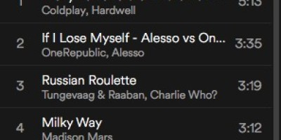 spinning playlist juni 2016