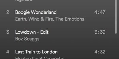 spinning playlist juli 2018