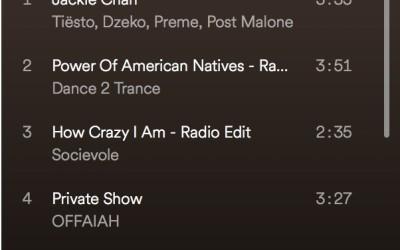 spinning playlist september 2018