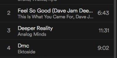spinning playlist juli 2016