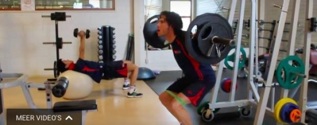 training professionele wielrenners