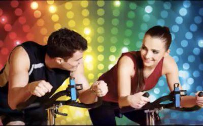 spinning muziek video disco